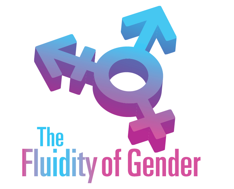 The transgender symbol appears above text that reads