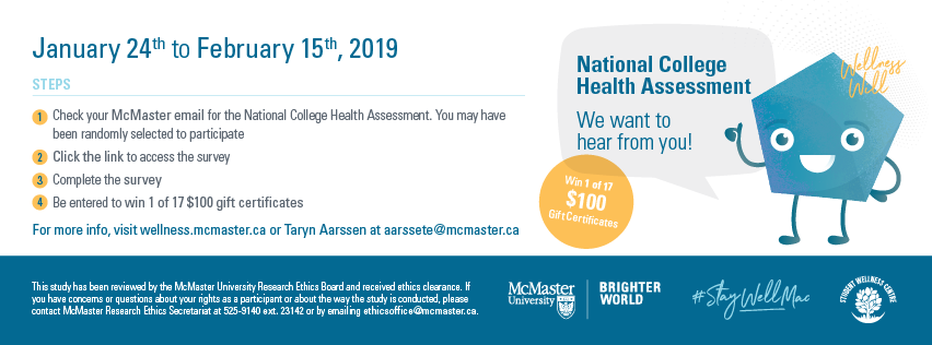 National College Health Assessment (NCHA) - Student Wellness