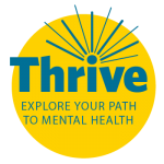 Thrive logo yellow circle