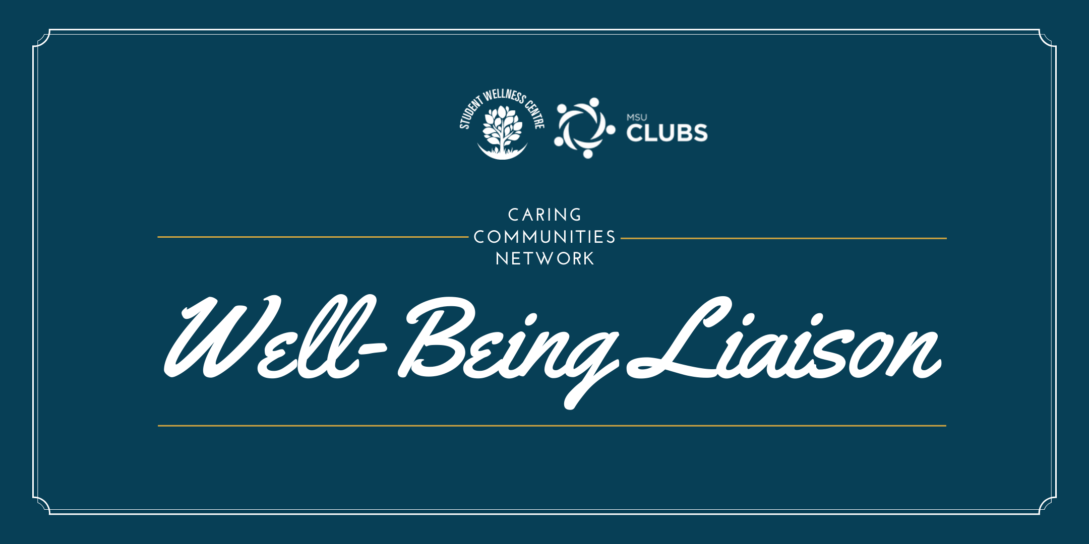 Caring Communities Network: Well-Being Liaison