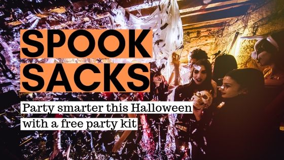 Spook Sacks: party smarter this Halloween with a free party kit